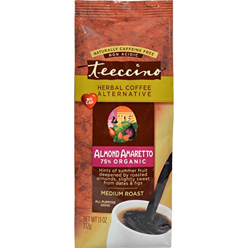 TEECCINO HRBL COFFEE,OG3,ALMD AMAR, 11 (Teeccino Almond Amaretto Herbal Coffee)
