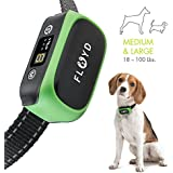 Floyd Bark Collar Large Dog - Anti Barking Device for Medium - Large - Small Dogs - Beep, Vibration, Harmless Shock, Rechargeable, Waterproof Dog Stop Barking Collar