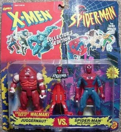 Marvel Juggernaut Vs Spiderman Walmart exclusive Moc