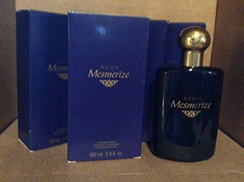 Avon Mesmerize cologne spray 3.4fl. oz. Lot 4 bottles
