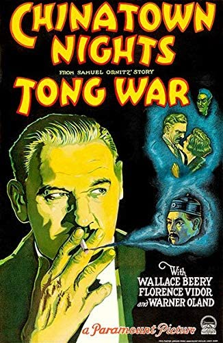 Amazon Com Chinatown Nights Tong War 1929 Movie Poster Posters Prints
