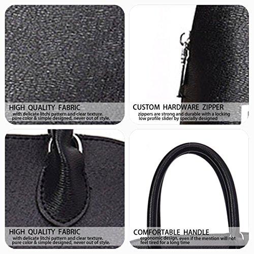 Mujer Shoppers y bolsos de hombro Bolsos bandolera Carteras de mano y clutches Fekete