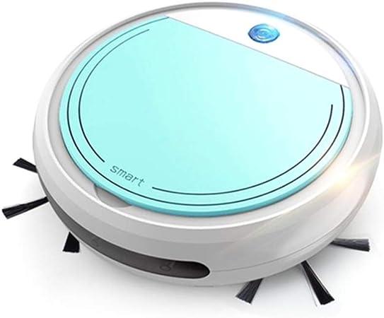 Aspirador de Robot Inteligente 4 en 1 Aspirador de Carga USB Robot de Barrido en seco y húmedo Mop Cleaner UV: Amazon.es: Hogar