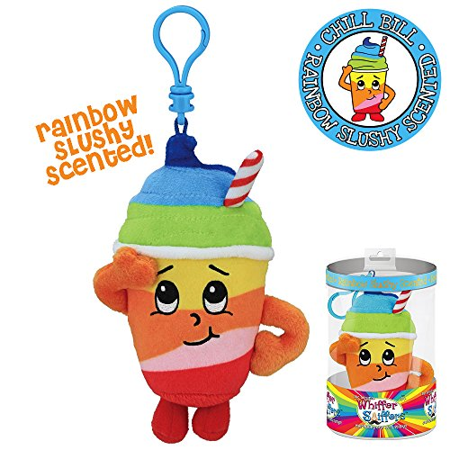 Whiffer Sniffers Rainbow Slushie Scented Backpack Clip, 5