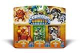 "Skylanders Giants - Character Triple Pack #6 - ERUPTOR ""S2"" / STEALTH ELF"