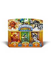 Activision Skylanders Giants Triple Pack #6: Eruptor, Stealth Elf, Terrafin