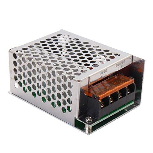 TOOGOO SCR de 4000W 220V AC Regulador de voltaje Controlador de temperatura de velocidad del motor electrico para pequenos motores de calentador de agua: ...