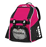 Diadora Squadra II Soccer Backpack (Hot Pink)
