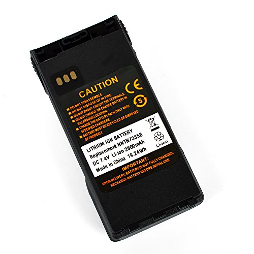 High Capacity 2600mAh Li Ion Battery Replacement NNTN7335 NNTN7554 NNTN7335B Battery for XTS1500 XTS2500 Radio