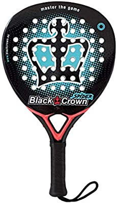 Pala de Pádel Spider - Black crown