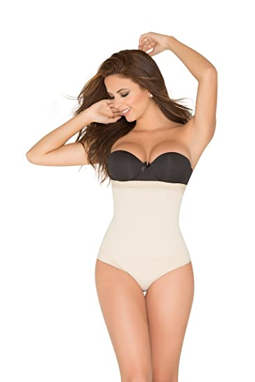 2f985e28e1ce3 Image Unavailable. Image not available for. Color  ShapEager Shapewear Lycra  - Nylon Body Braless Strapless Thong type corset Waist