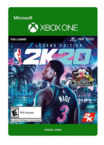 NBA 2K20: Legend Edition Legends - [Xbox One Digital Code]