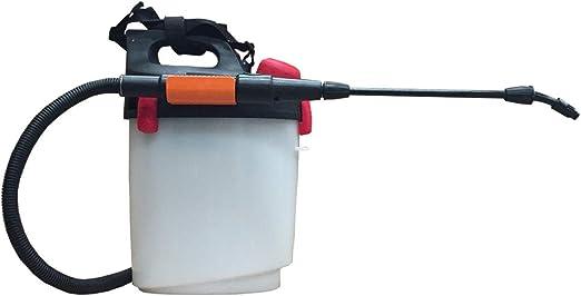 HYF Pulverizador de Mochila con batería Recargable, excelente pulverizador para fumigar Las Malas Hierbas del jardín o la Huerta con herbicida, Capacidad 5 L, Muy práctico.: Amazon.es: Jardín