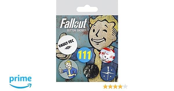 GB Eye, Fallout 4, Mix, Pack de Chapas,