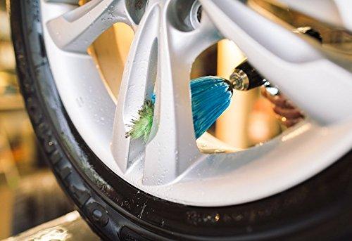 Twisstar Brosse /à jantes pour visseuse sans fil nettoyeur de jantes entretien automobile jantes pneus autos