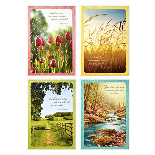 Assorted Religious Sympathy Greeting Cards, Dayspring (Christian Prayers, 12 Cards and Envelopes)