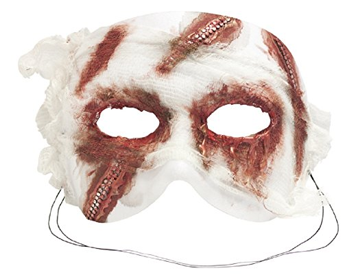Success Creations Face Lift Mummy Masquerade Halloween Mask -