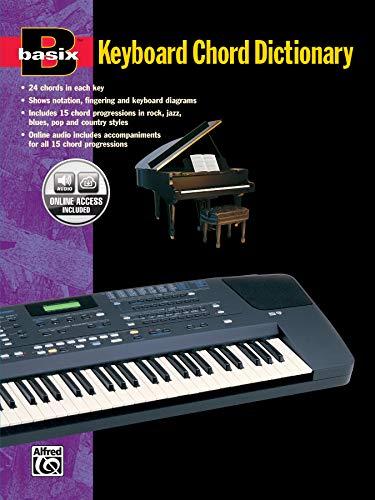 Basix Keyboard Chord Dictionary: Book & Online Audio (Basix(R) Series) ()