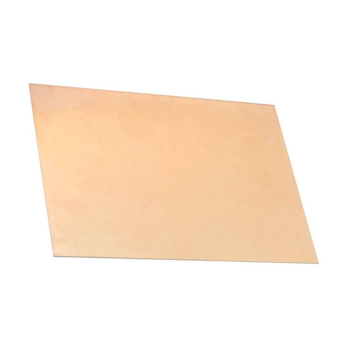 Semoic 30cm x 20cm Una cara DIY Placa de circuito PCB laminado de revestimiento de cobre