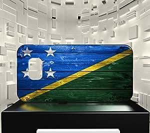 Funda Carcasa para Galaxy S6 Edge Bandera ISLAS SALOMÓN 02