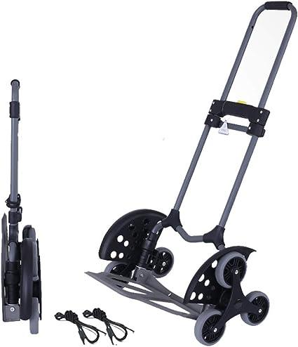 Carrito de mano plegable portátil para escalera de coche, oficina, viaje o uso de compras, 154 libras: Amazon.es: Oficina y papelería