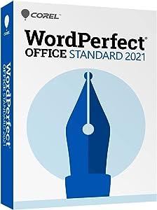 Corel WordPerfect Office Standard 2021   Office Suite of Word Processor, Spreadsheets & Presentation Software [PC Disc]