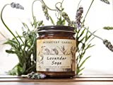 LirioVela Scented Soy Candle - Natural Organic Vegan Soy Aromatherapy Candle, Handmade in USA with only the Best Fragrance Oils, 4 oz (Lavender Sage)