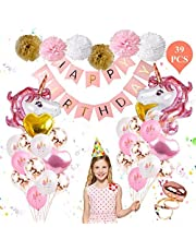 Unicorn Balloons Birthday Party Decorations