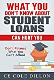 What You Don't Know About Student Loans Know Can Hurt You