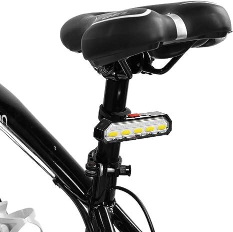 VGEBY1 Luz Trasera para Bicicleta, lámpara de Advertencia de señal ...