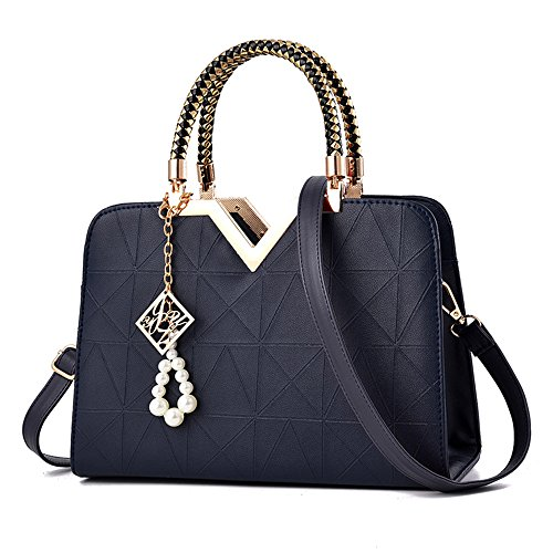 Bag Handbag Deep Blue Tibes Totes Shoulder Satchel bags Handbags Clutches Handles Handbag gwpYC6q