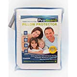 "ProGuard Terry Pillow Protector Complete Allergen Defense Standard Size 20"" x 26"""