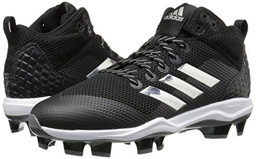 uk availability b6110 e261b adidas Men s Freak X Carbon Mid Baseball Shoe, core Black, Silver met, FTWR