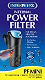 Interpet 2200 Internal Aquarium Power Filter PF Mini for Fish Tanks - Black/Blu