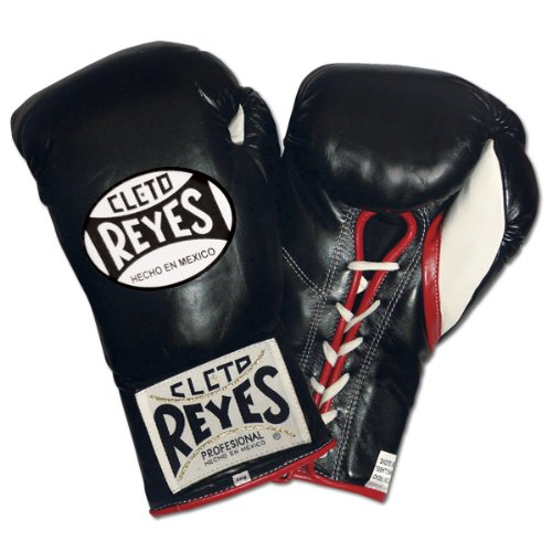 Cleto Reyes Official Fight Boxing Gloves, Red, 10-Ounce