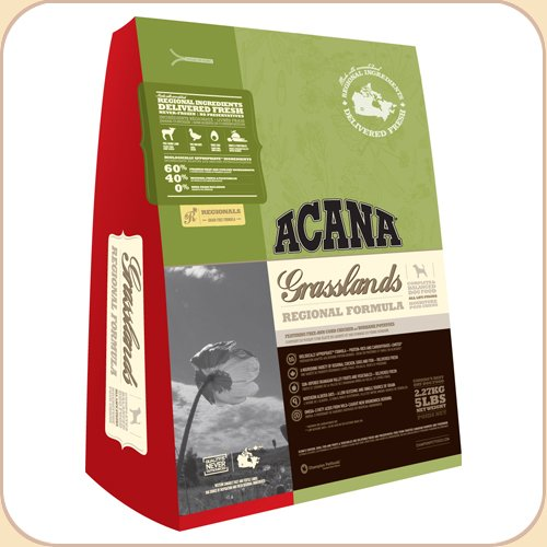 Acana Grasslands Grain-Free Dry Dog Food, .88 lb (trial bag)