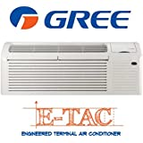 12,000 Btu 10.5 EER Gree Heat Pump Engineered Terminal Air Conditioner ETAC ETAC-12HP230V20A-A