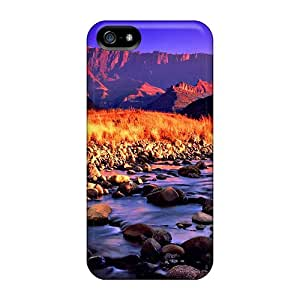 Brand New For HTC One M8 Phone Case Cover (crystal Clear River)