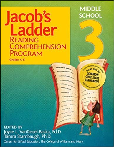 Jacob's Ladder Reading Comprehension Program - Level 3 by Joyce VanTassel-Baska Ed.D. (2008-11-01)