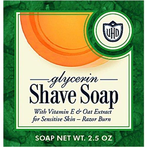 Van der Hagen Glycerin Shave Soap - 2.5 oz (Van Der Hagen Glycerin)