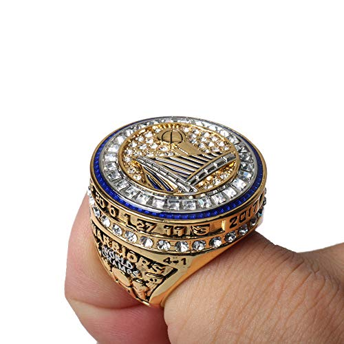 Haidao Blockchain Tech Warriors Replica Championship Ring 2017 MVP Curry Durant GS17 Size 9-12