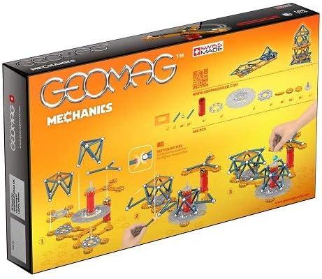 TALLA 146 Piezas. Geomag Mechanics Construcciones magnéticas y juegos educativos, 146 Piezas (722), Multicolor