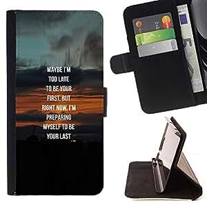 Momo Phone Case / Flip Funda de Cuero Case Cover - Vrai Couple sweetheart miel - Samsung Galaxy S4 Mini i9190