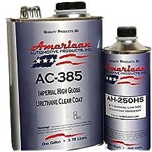 AC-385HS Automotive 2K Urethane Clear Coat Gallon Clearcoat Kit Fast Activator