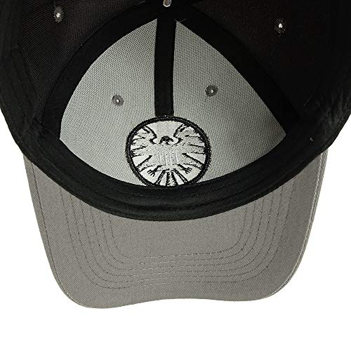646bb9f638e Captain Marvel Cosplay Hat Shield Logo Hats Size Adjustable Cap Baseball  Caps Gray