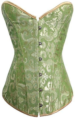 Alivila.Y Fashion Womens Sexy Brocade Vintage Corset ()