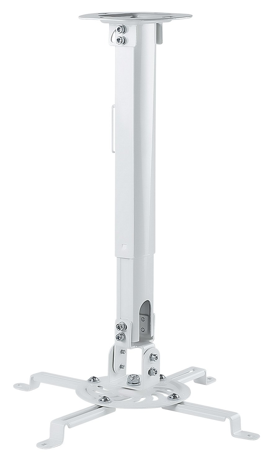 Mount-It! Ceiling Projector Mount Height Adjustable Universal Stand Fits Epson Optoma Benq Viewsonic Projectors, 30 Lbs Capacity (Short) Brateck MI-606S
