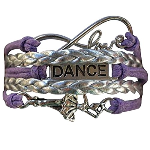 Dance Charm Bracelet- Girls Dance Jewelry - Perfect Gift For Dance Recitals, Dancers and Dance Teams