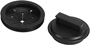3 inch Garbage Disposal Splash Guards and Kitchen Sink Stopper Universal Rubber Food Waste Disposer in Sink Erator Garbage Disposal Splash Guard and Drain Plug for Waste King Whirlaway