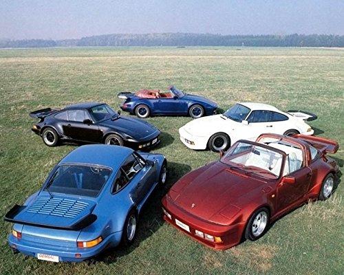 1985 Porsche 930 Turbo Gembella Slant Nose Automobile Photo Poster